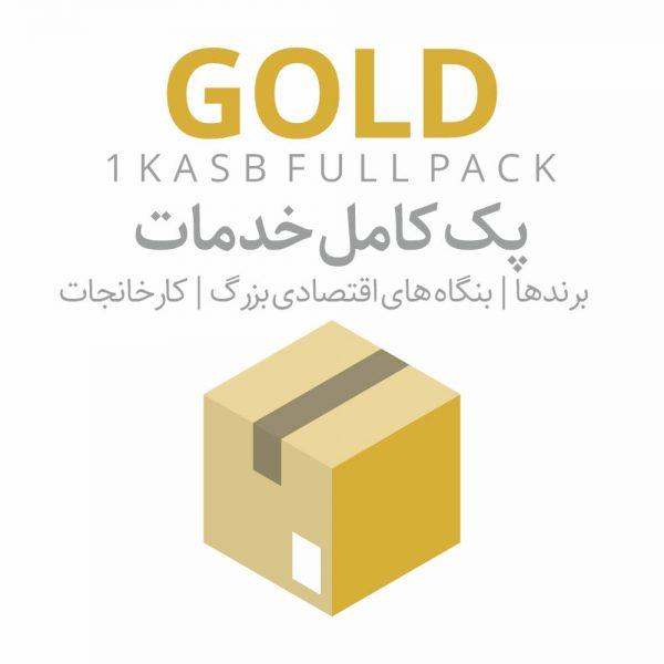 پک کامل خدمات طلایی